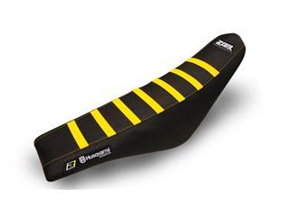 Housse de selle BLACKBIRD Zebra noir/jaune Husqvarna TC125/FC250 - 78102164