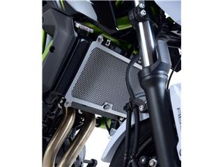 Protection de radiateur R&G RACING titane Kawasaki Z650