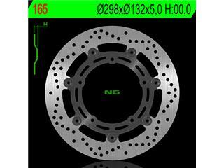 Disque de frein NG 165 rond semi-flottant - 350165