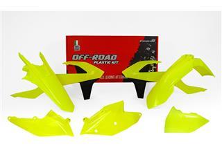 Kit plastique RACETECH jaune fluo KTM EXC/EXC-F