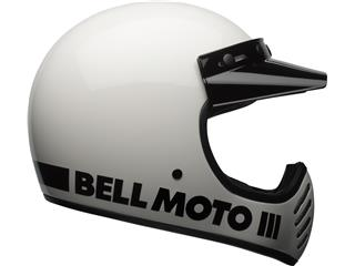 Casque BELL Moto-3 Classic White taille M - fad80923-967f-4c38-b522-f866dc5c4506