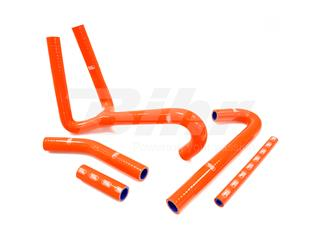 Kit manguitos Samco KTM naranja KTM-68-OR
