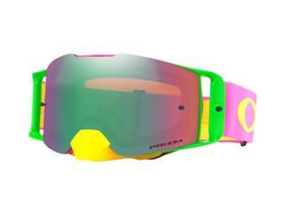 Masque OAKLEY Front Line Pink Yellow écran Prizm MX Jade Iridium