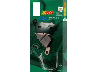 Plaquettes de frein CL BRAKES 2260X59 métal fritté - fb162409-4ff5-4dee-98c2-4a28fcccbe58