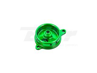 Tampa filtro de óleo verde Kawasaki