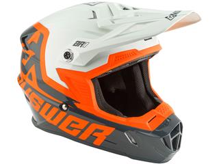Casque ANSWER AR1 Voyd Junior taille YL Charcoal/Gray/Orange taille YL - fb272801-5b1e-4d61-a7a7-7c2261674b9b