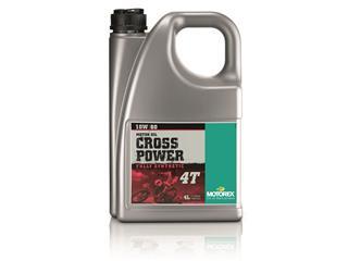 Huile moteur MOTOREX Cross Power 4T 10W60 100% synthétique 4L - 551755