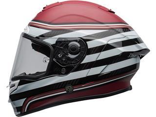 BELL Race Star Flex DLX Helmet RSD The Zone Matte/Gloss White/Candy Red Size M - fb7d8421-6968-462e-8253-5461177dab2a