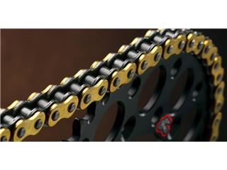 Chaîne de transmission RENTHAL 420 R1 Works or/noir 112 maillons - fb8924ef-e2dc-47bc-8c6a-d6266b053874