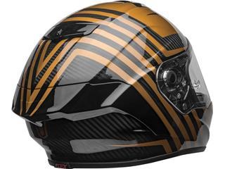 BELL Race Star Flex DLX Helmet Mate/Gloss Black/Gold Size L - fbd4a93a-1fd1-4728-81e8-5ffb89e0e1ad