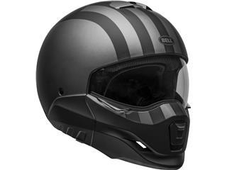BELL Broozer Helmet Free Ride Matte Gray/Black Size L - fc31ea2e-8bc2-46a8-bc80-24208402ed20