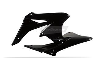 Ouïes de radiateur POLISPORT noir Suzuki RM-Z250 - 784136BK