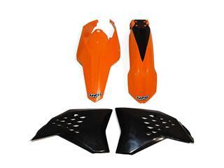Kit plastique UFO couleur origine orange/noir KTM - 78542100