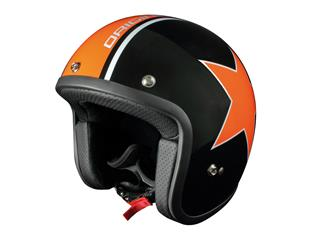 Origine Primo Astro Helmet Gloss Black/Orange XS