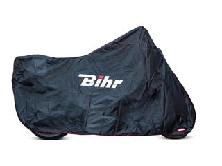 Funda moto exterior HS BIHR H2O+ HS XL - Color negro