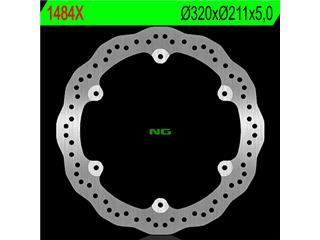 NG 1484X Front Brake Disc Petal Fixed Honda