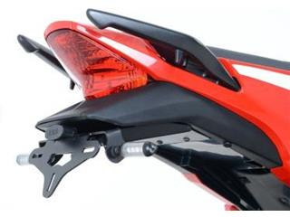 Support de plaque noir R&G RACING Honda CBR300R