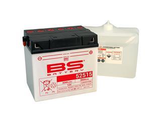 BS BATTERY Batterie 52515 (B60N30L-A) konventionell mit säurepack geliefert