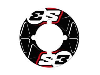 Stickers de couronne S3 41/42/43/44 dents rouge