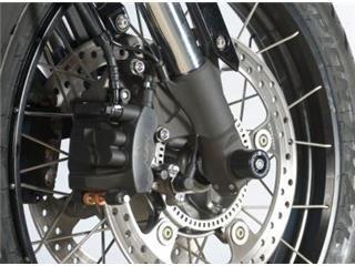 Protection de fourche R&G RACING noir Honda