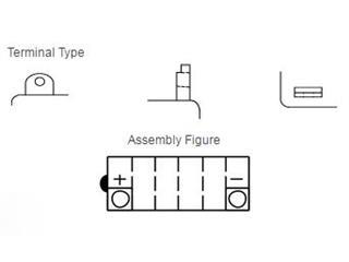 Batterie YUASA YB12A-A conventionnelle - fd9c32b6-7a30-4534-93ab-0416215957fc