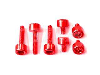 Kit parafusaria tampa reservatório Pro-Bolt alumínio TYA280R vermelha