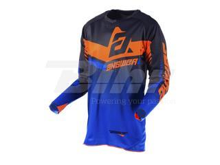 Camiseta ANSWER Trinity Negro/Azul Oscuro/Naranja Flúor Talla XXL - fe36c421-dc17-4261-9b3f-248e458c69f1