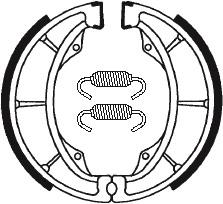 Machoires de frein TECNIUM BA183 organique