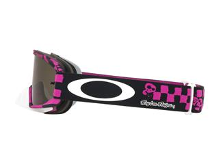 OAKLEY O Frame 2.0 MX Goggle Troy Lee Designs Race Shop Pink Dark Grey Lens - fe61c154-a532-4233-b678-c05b44404783