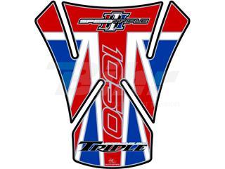 Protector de depósito Motografix TRIUMPH SPEED TRIPLE 1050 bandera UK