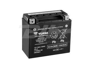 Batería Yuasa YTX20HL-BS Combipack (con electrolito)