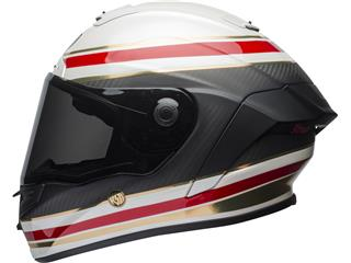 BELL Race Star Flex Helmet RSD Gloss/Matte White/Red Carbon Formula Size L - fee136c8-3d47-4ff3-8189-4eed344e11fe