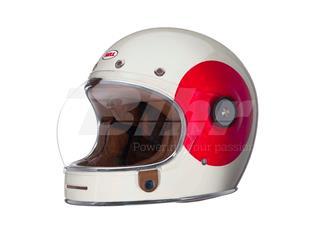 Casco Bell Bullitt TT Vintage Blanco/Rojo Talla S