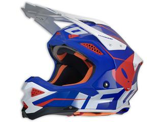 UFO Diamond Helmet Blue/White/Red Size L