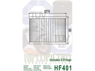 HIFLOFILTRO HF401 Oil Filter - ffc51eed-99a0-45b2-a612-e0c5543c295c