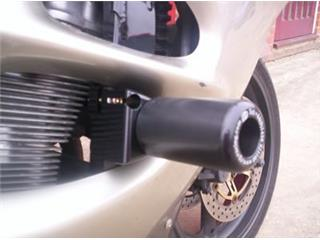Tampons de protection R&G RACING noir Suzuki GSX600F/750F