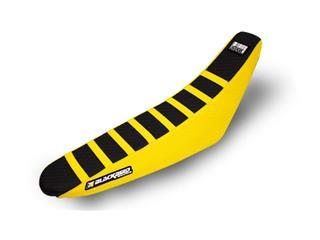 Housse de selle BLACKBIRD Zebra noire/jaune Suzuki RM-Z250 - 78101800