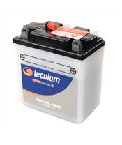 TECNIUM Battery 6N6-3B Conventional with Acid Pack