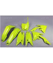 Kit plastiques UFO jaune fluo Suzuki RM-Z250