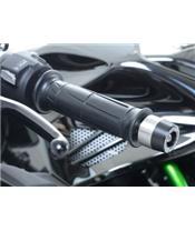 Stuureinden R&G RACING zwart Kawasaki H2