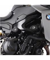 Tampons de protection R&G RACING Aero noir BMW F900R/XR