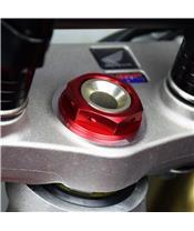SCAR Steering Stem Nut Red Honda CRF250/450R