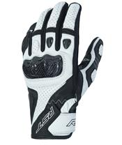 RST Stunt III CE Gloves Leather/Textile White