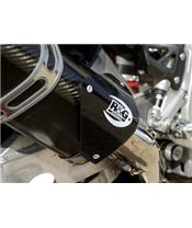 R&G RACING Guard for left Tri-oval muffler