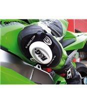 R&G RACING Knee Sliders White