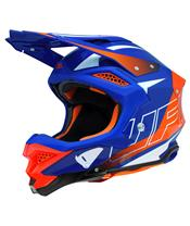Casque UFO Diamond rouge/bleu