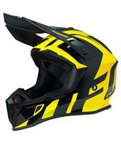 UFO Quiver Helmet Shedir Black/Yellow