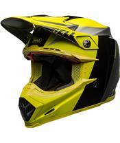 Casque BELL Moto-9 Flex Division Black/Hi Viz/Gray