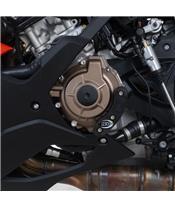 R&G RACING Motorgehäuse-Sturzpad links schwarz BMW S1000RR