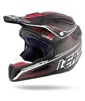 Helm LEATT GPX 6.5 Carbon schwarz/rot Gr. S